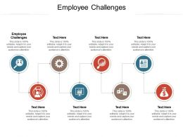 Employee Challenges Ppt Powerpoint Presentation Icon Guidelines Cpb