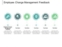 Employee Change Management Feedback Ppt Powerpoint Presentation Deck Cpb