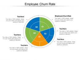 Employee Churn Rate Ppt Powerpoint Presentation Ideas Format Cpb