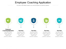 Employee Coaching Application Ppt Powerpoint Presentation Icon Deck Cpb