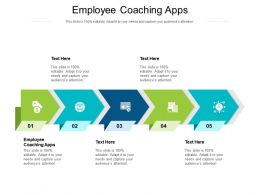 Employee Coaching Apps Ppt Powerpoint Presentation Show Graphics Cpb