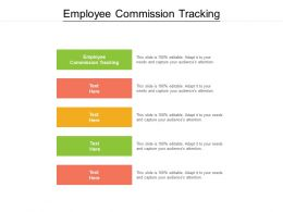 Employee Commission Tracking Ppt Powerpoint Presentation Pictures Graphic Images Cpb