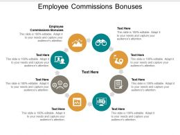 Employee Commissions Bonuses Ppt Powerpoint Presentation Gallery Backgrounds Cpb