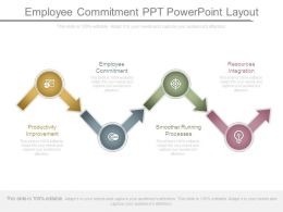 Employee Commitment Ppt Powerpoint Layout