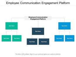 Employee Communication Engagement Platform Ppt Powerpoint Presentation Slides Cpb