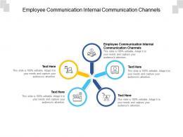 Employee Communication Internai Communication Channels Ppt Powerpoint Presentation Slides Professional Cpb