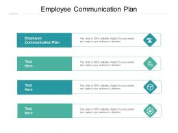 Employee Communication Plan Ppt Powerpoint Presentation Layouts Rules Cpb