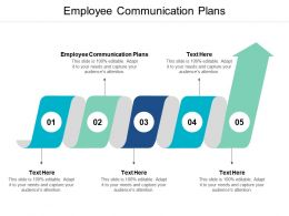 Employee Communication Plans Ppt Powerpoint Presentation Slides Inspiration Cpb