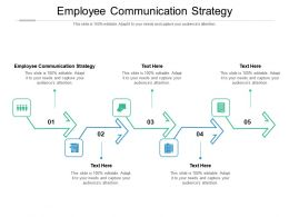Employee Communication Strategy Ppt Powerpoint Presentation Summary Background Cpb