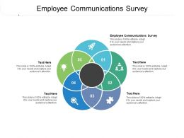Employee Communications Survey Ppt Powerpoint Presentation Styles Inspiration Cpb