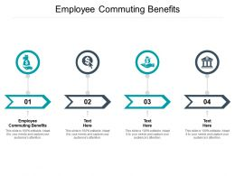 Employee Commuting Benefits Ppt Powerpoint Presentation Inspiration Graphics Cpb