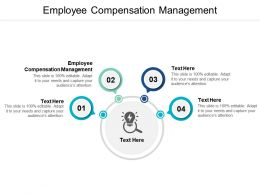 Employee Compensation Management Ppt Powerpoint Presentation Professional Images Cpb