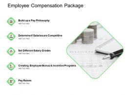 Employee Compensation Package Competitive Ppt Powerpoint Presentation Outline Objects