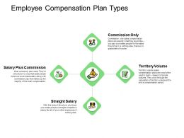 Employee Compensation Plan Types Commission Ppt Powerpoint Presentation Microsoft