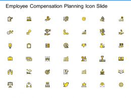 Employee Compensation Planning Icon Slide Team Ppt Powerpoint Presentation Summary