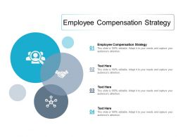 Employee Compensation Strategy Ppt Powerpoint Presentation Gallery Slides Cpb