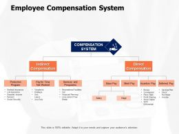 Employee Compensation System Worked Ppt Powerpoint Presentation File Template