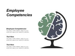 Employee Competencies Ppt Powerpoint Presentation Outline Objects Cpb