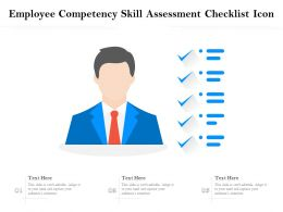 Employee Competency Skill Assessment Checklist Icon