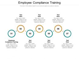 Employee Compliance Training Ppt Powerpoint Presentation Icon Clipart Cpb