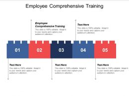 Employee Comprehensive Training Ppt Powerpoint Presentation Icon Background Images Cpb