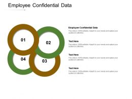Employee Confidential Data Ppt Powerpoint Presentation Model Graphics Template Cpb