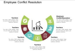 Employee Conflict Resolution Powerpoint Presentation Infographic Template Graphics Cpb