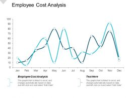 Employee Cost Analysis Ppt Powerpoint Presentation File Designs Cpb