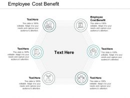 Employee Cost Benefit Ppt Powerpoint Presentation Ideas Background Cpb