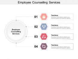 Employee Counselling Services Ppt Powerpoint Presentation Model Deck Cpb