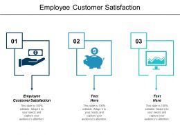 Employee Customer Satisfaction Ppt Powerpoint Presentation Infographic Template Elements Cpb