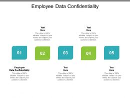 Employee Data Confidentiality Ppt Powerpoint Presentation Slides Example Cpb