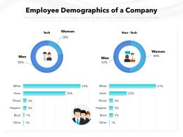 Employee Demographics Of A Company