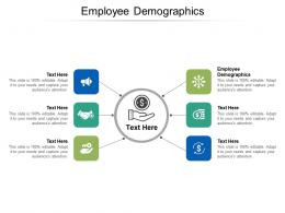 Employee Demographics Ppt Powerpoint Presentation Inspiration Layouts Cpb