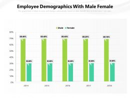 Employee Demographics With Male Female