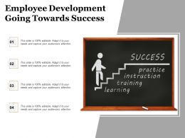 Employee Development Going Towards Success