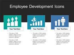 Employee Development Icons