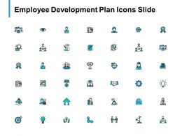 Employee Development Plan Icons Slide Big Data B297 Ppt Powerpoint Presentation Diagram