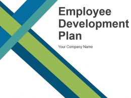Employee Development Plan Powerpoint Presentation Slides