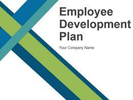 Employee Development Plan Powerpoint Presentation Slides