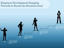 Employee Development Stepping Towards To Reach The Business Goal