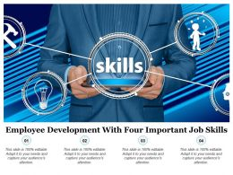 Employee Development With Four Important Job Skills
