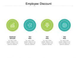 Employee Discount Ppt Powerpoint Presentation Infographic Template Diagrams Cpb