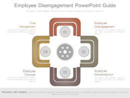 Employee Disengagement Powerpoint Guide