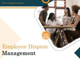 Employee Dispute Management Powerpoint Presentation Slides