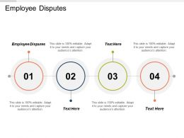 Employee Disputes Ppt Powerpoint Presentation Icon Graphics Pictures Cpb