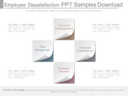Employee Dissatisfaction Ppt Samples Download