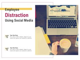 Employee Distraction Using Social Media