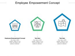 Employee Empowerment Concept Ppt Powerpoint Presentation Pictures Model Cpb