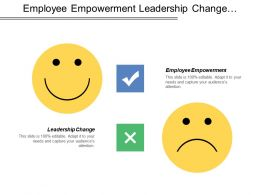Employee Empowerment Leadership Change Effective Communication Education Training